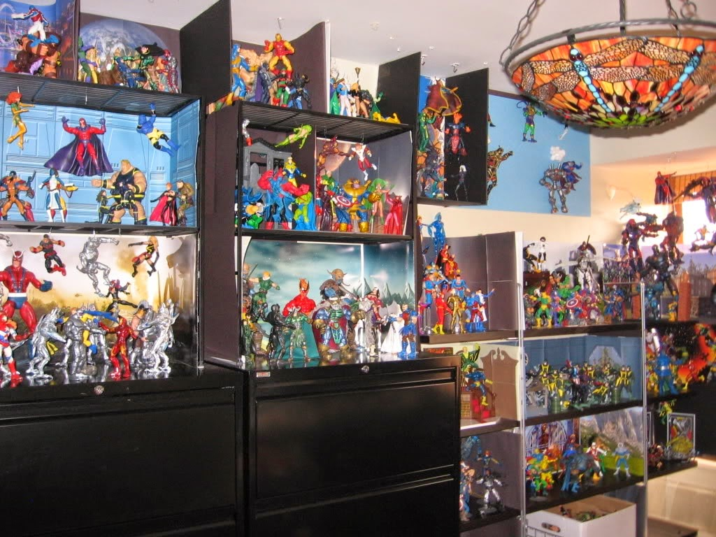 Action Figure Wall