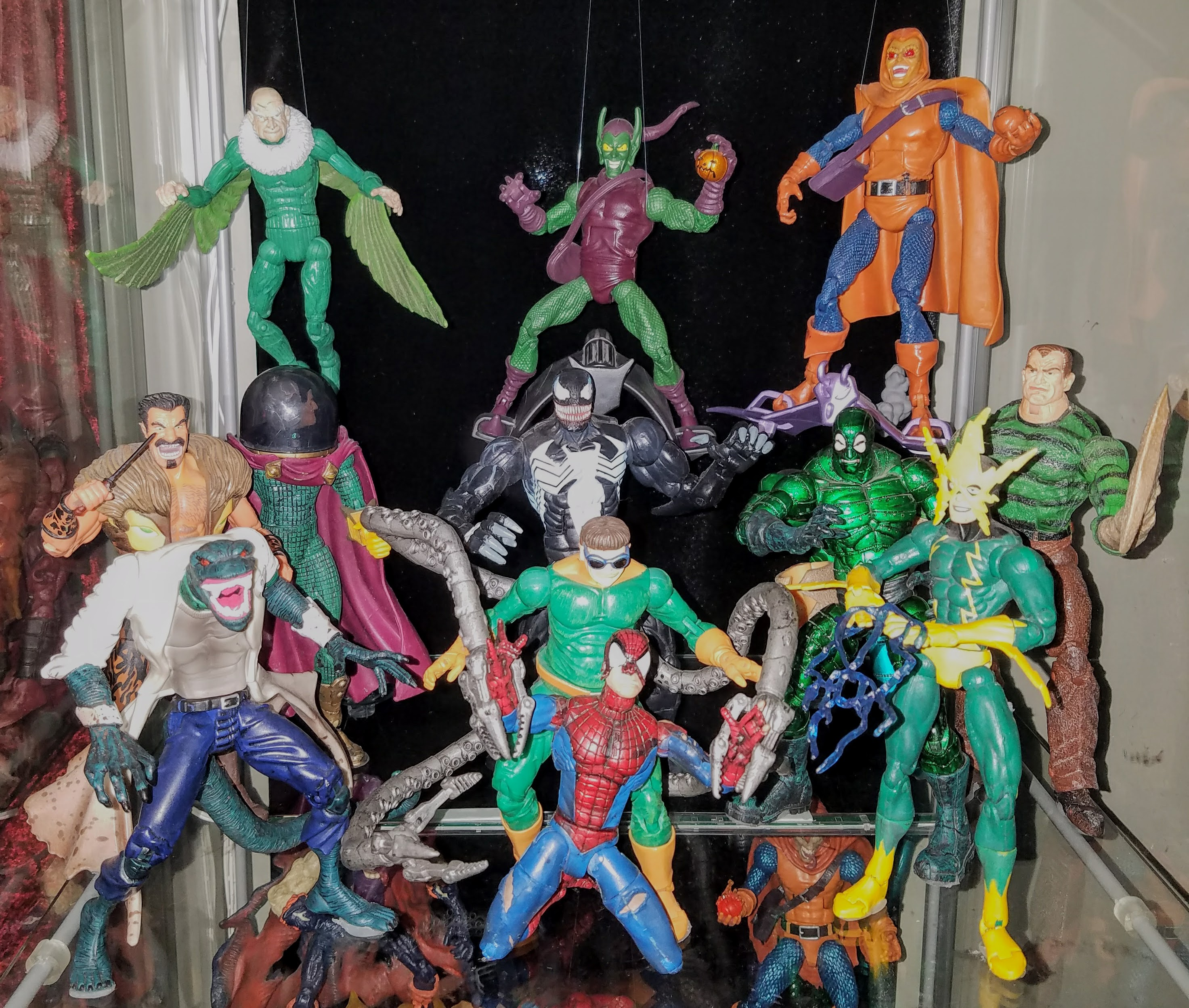 Sinister Six Prodigeeks Action Figure Collection